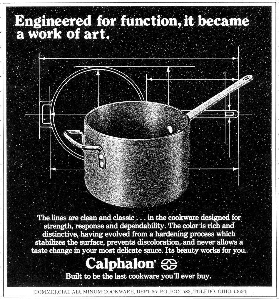 u2013 announcing the calphalon corporation