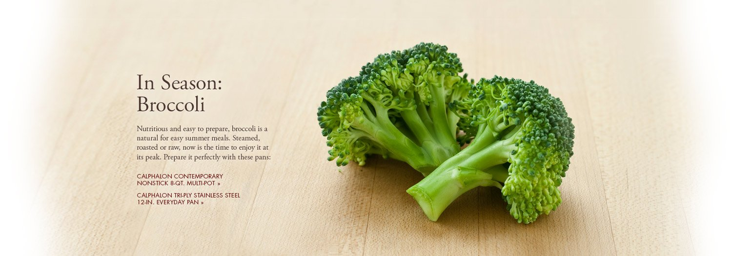 In Season: Broccoli