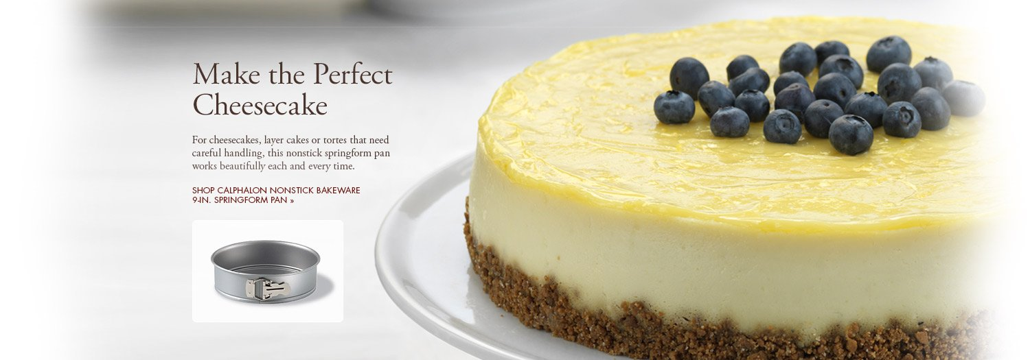 Make the Perfect Cheesecake