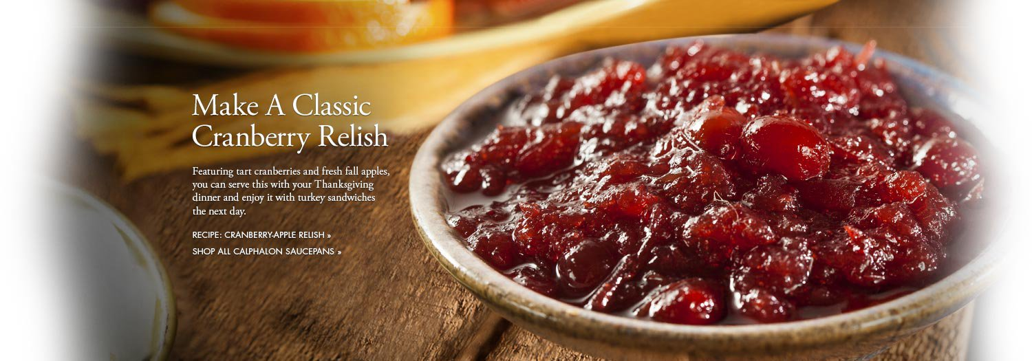 Make a Classic Cranberry Relish