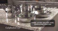 Calphalon Tri-Ply Stainless Steel Cookware