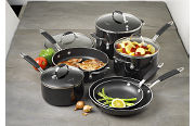 Cooking with Calphalon Enamel 10 Piece Set - Black