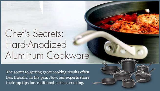 Calphalon Commercial Hard Anodized Cookware