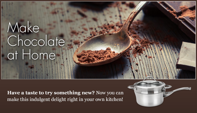 Make Chocolate at Home