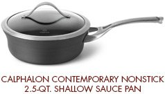 Calphalon Contemporary Nonstick 2.5-qt. Shallow Sauce Pan