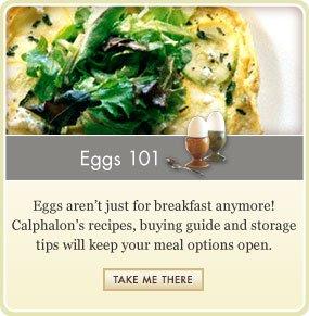 Eggs 101 - Recipe